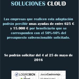 Ayudas para implantar soluciones Cloud